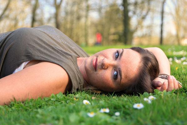 Porträtshooting mit Mareike im Kurpark Bad Nauheim
