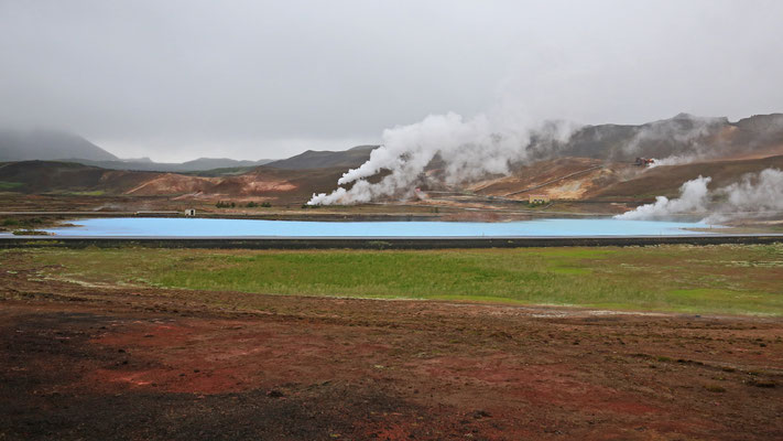 Geothermie im Myvatn-Gebiet