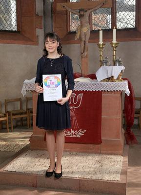 Konfirmation Ebsdorf: Porträt Lea