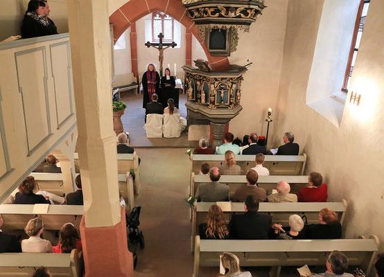 Hochzeit in Oberrosphe