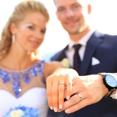 Hochzeitsfotografie: Die Ringe