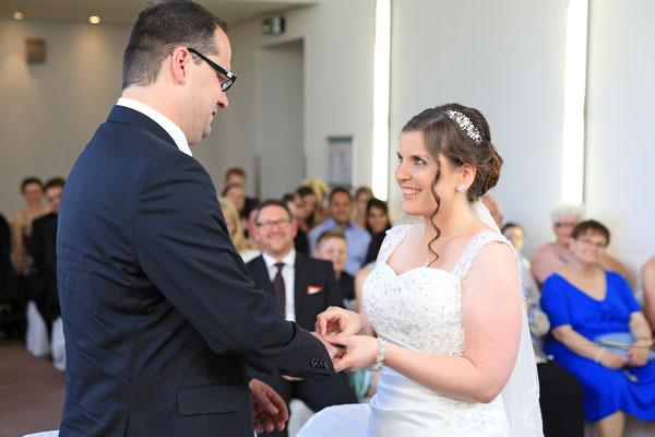 Hochzeit: Eheringe