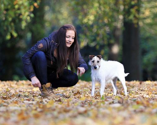 Tierfotografie: Nele im Marburger Schlosspark