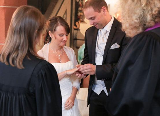 Hochzeitsfotografie: Ringtausch