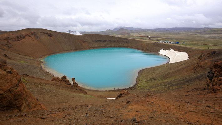 Der Vulkansee Krafla