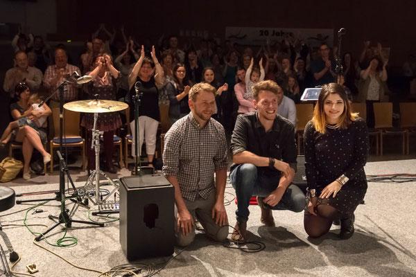 Oh, Alaska mit Yana Gercke, Dominik Reh und Sascha Christ live in Marburg