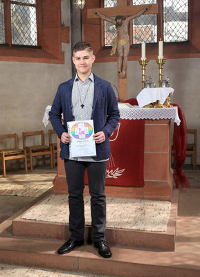 Konfirmation Ebsdorf: Porträt Philipp