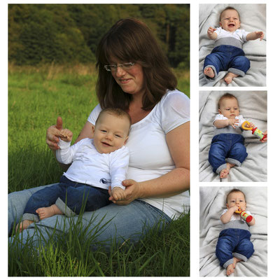 Babyfoto: Tom-Collage