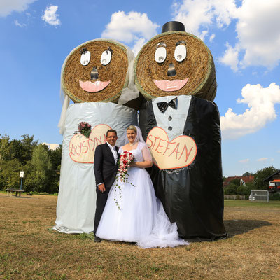 Hochzeitsfotografie: Doppeltes Brautpaar