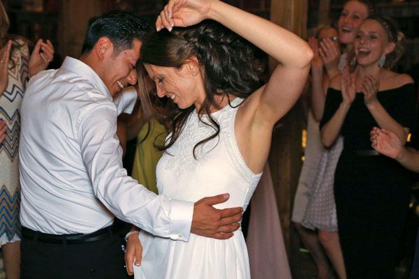 Hochzeit und kein Ende: Abtanzen bis tief in die Nacht