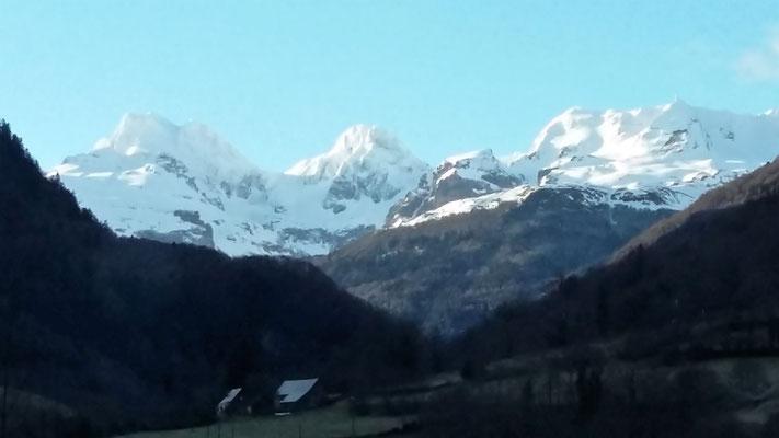Pyrenäen kurz vor den Col de Somport