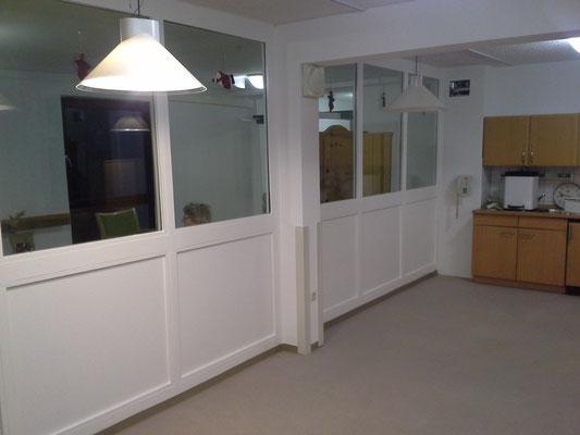 Lackierarbeiten Fensterfront