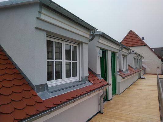 Weingut Hillabrand- fertige Fassade - Fassade rein Mineralisch aufgebaut
