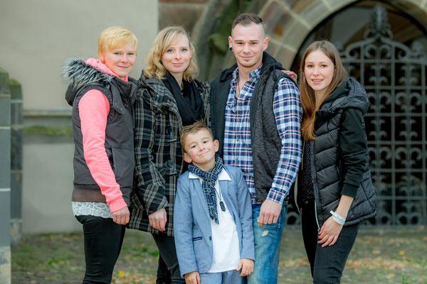 Maika Uhlemann - ihre fünf Kinder
