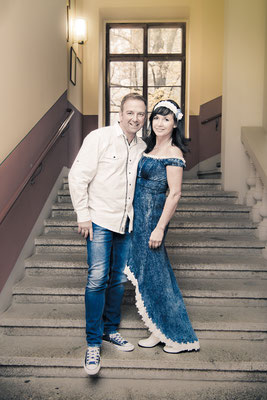 Maika Uhlemann zur eigenen Hochzeit