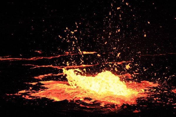 Äthiopien; Vulkan Erta Ale