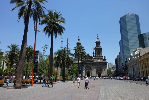Argentinien und Chile; Santiago de Chile