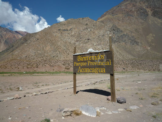 Argentinien und Chile; Expedition Aconcagua