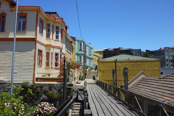 Argentinien und Chile; Valparaiso