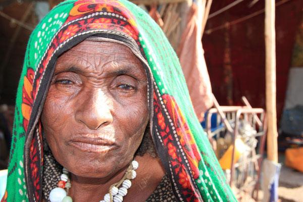 Äthiopien; Frau der Afar