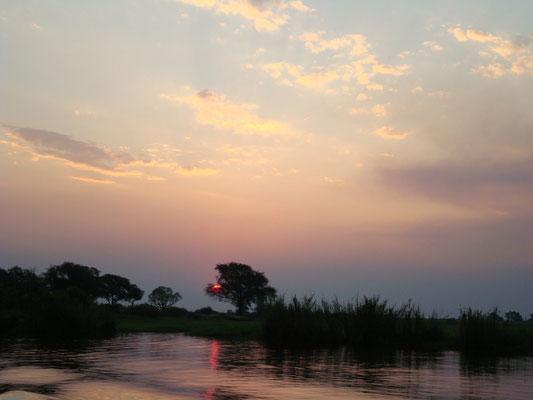 Botswana und Zambia