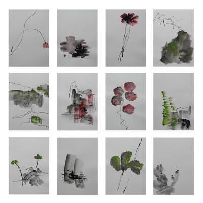 zeichentusche/aquarell, 12 x 21x14,8, 2012