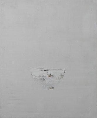 teeschale mit weißer hagi-glasur, öl, 60x50, 2014