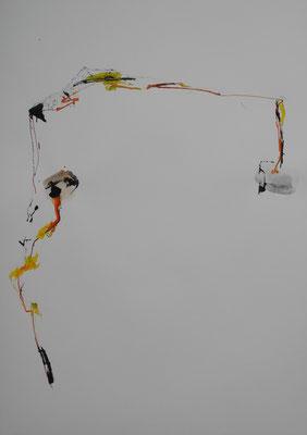 tusche/aquarell/gouache, 59,4x42, 2019