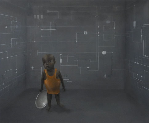 chipworld, öl, 50x60, 2010