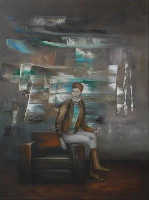 triptychon teil II, öl, 80x60, 2012