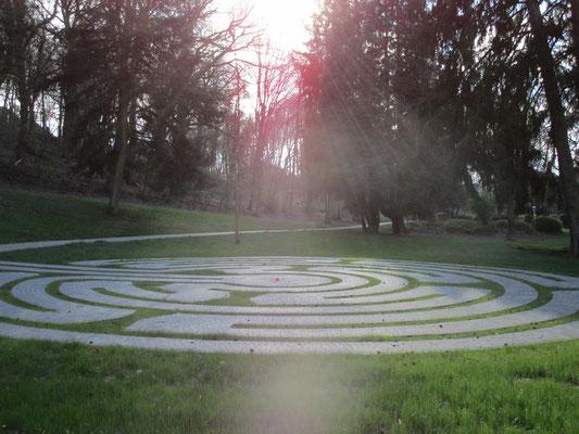 das Labyrinth erleben, geführt Samstags zur Jahreszeitenwende