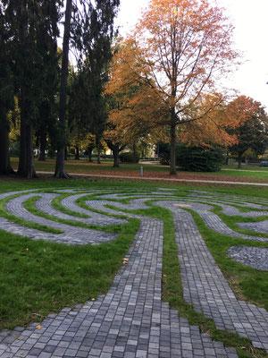 Labyrinth Kurpark Hennef