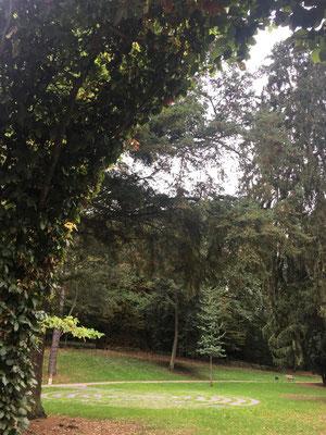 Das Laybrinth im Kurpark (Bild Sigrid Klein)
