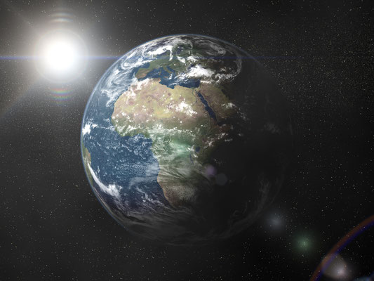 Earth Animation - Test Render