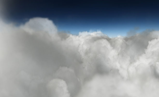 Clouds - made with Trapcode Particular