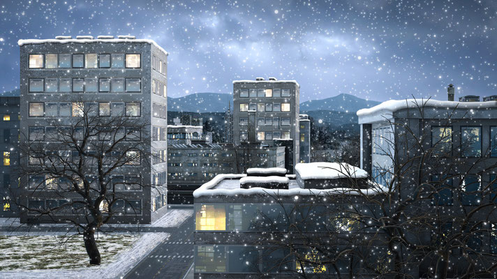Winter - Schneefall
