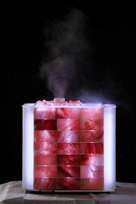 Salztherapie / Aromatherapie mit dem Himalya Cube