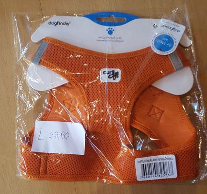 Curli Brustgeschirr Orange Größe L statt € 23,90  jetzt nur € 16,70