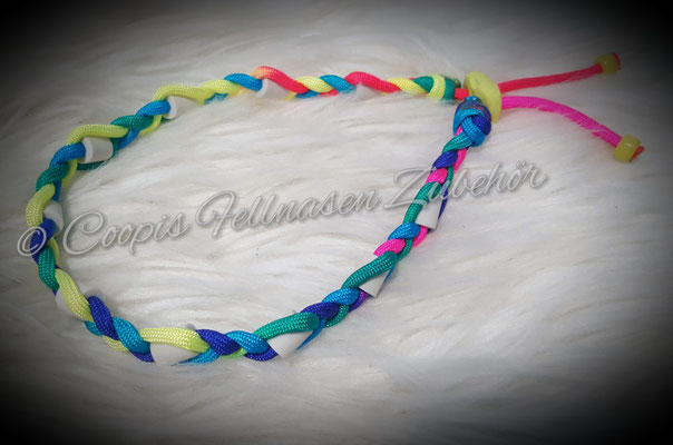 Paracord Halsband, Halsband tau, Em Keramik, Keramik, SChmuckhalsband, Hundehalsband Tau, Seil , Name Halsband, Em Keramik Halsband verstellbar