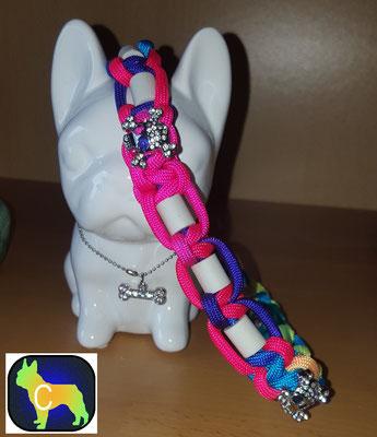 EM Keramik Halsband Zeckenhalsband Hundehalsband, Paracord Halsband, Halsband tau, Em Keramik, Keramik, SChmuckhalsband, Hundehalsband Tau, Seil