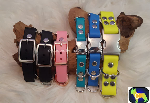 Biothane Adapter, Adapter, Paracord Adapter, Biothane, Hundezubehör, tau Adapter, Seil Adapter, Klickverschluss Adapter, Klickverschluss, Rosé Gold