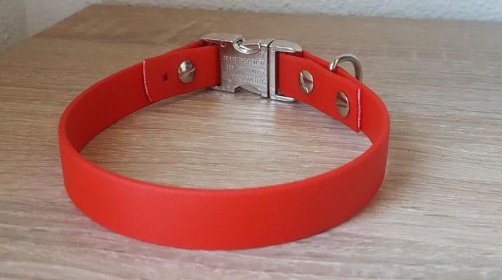 Biothane Hundehalsband, Halsband aus Biothane, Biothane, Biothane Halsband verstellbar, Hundehalsband Biothane,