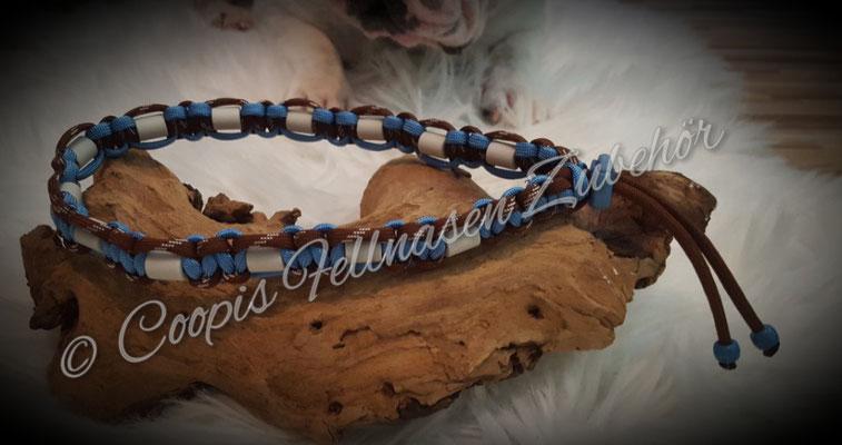 Em Keramik Halsband, Em Keramik Schmuckband, Paracord Em Keramik Band, Zeckenhalsband,