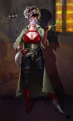 Artwork - Illustration - Character Design - Bounty Hunter