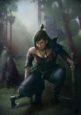 Artwork - Illustration - Character Design - Tracker