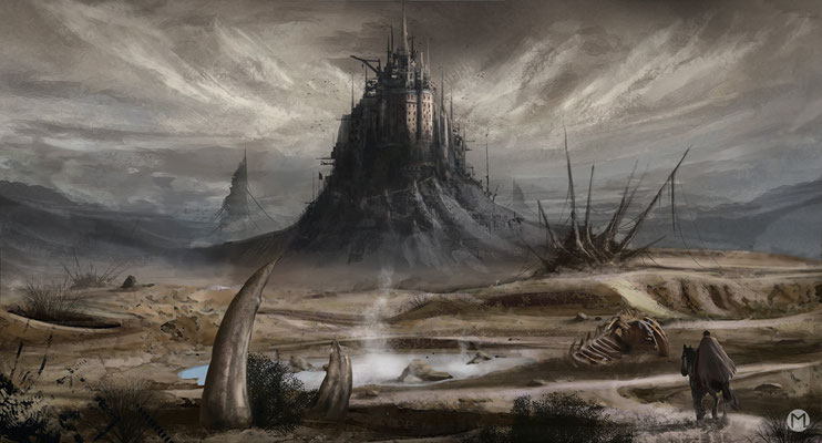 Artwork - Illustration - Wasteland