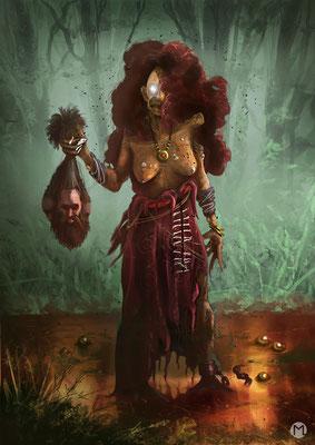 Artwork - Illustration - Character Design - Forest Spirit