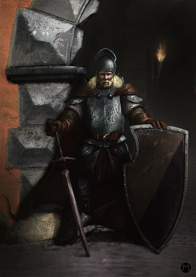 Artwork - Illustration - Character Design - Imperial Knight