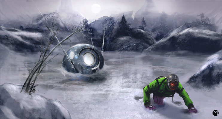 Artwork - Illustration - Sputnik No. 23