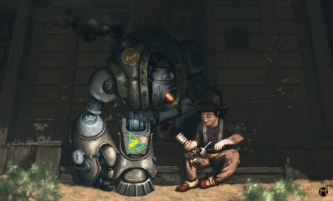 Artwork- Illustration - Steampunk